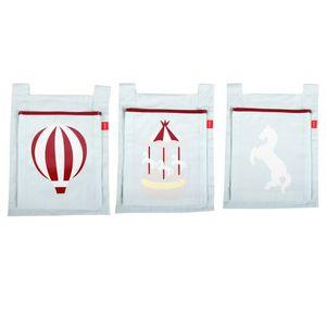 Set de 3 Bolsas para Cama Circus