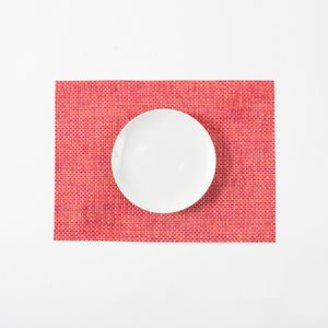 Mantel Individual Rojo