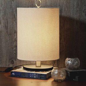 Lámpara de Mesa con Pantalla Beige RG99
