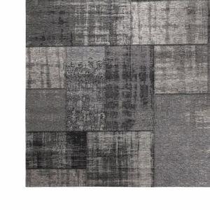 Tapete Patch Vintage Dark Grey
