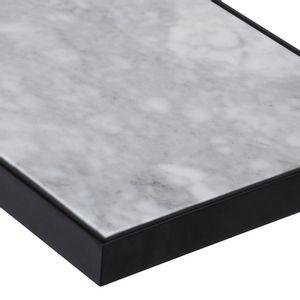 Mesa Auxiliar Blanco Carrara
