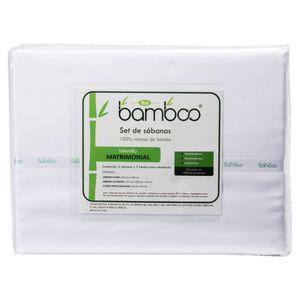 Set de Sabanas Be Bamboo Blanco