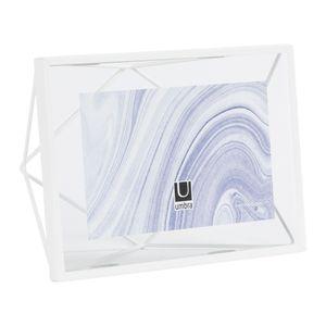 Portaretrato Prisma Blanco