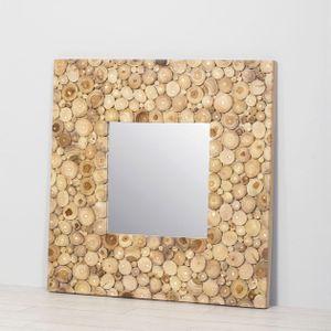 Espejo con marco de Teka Mediano