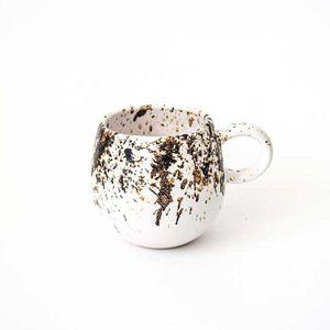Set 4 Tazas Espresso 80 ML Blanco Caribe
