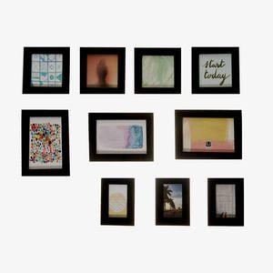 Portaretrato Gallery Multi Negro