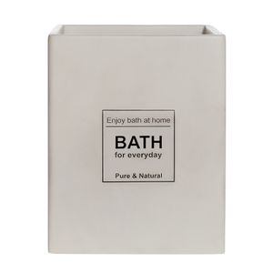 Bote de Basura Bath Blanco