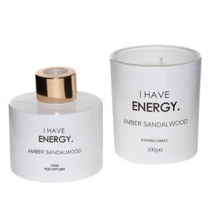 Set Difusor mas Vela Energy